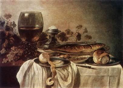 Pieter Claesz: Śniadanie