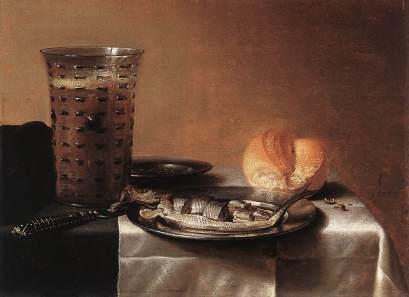 Pieter Claesz: Martwa natura ze śledziem