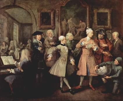William Hogarth: W otoczeniu artystów i profesorów