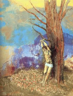 Odilon Redon: Święty Sebastian