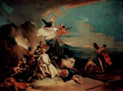 Giovanni Battista Tiepolo: Porwanie Europy