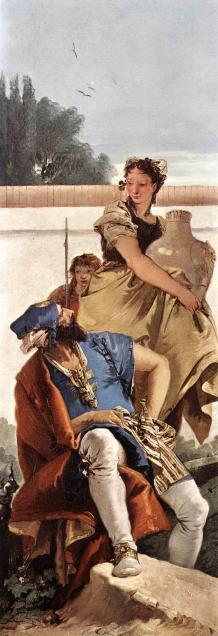 Giovanni Battista Tiepolo: Mężczyzna i kobieta z dzbanem