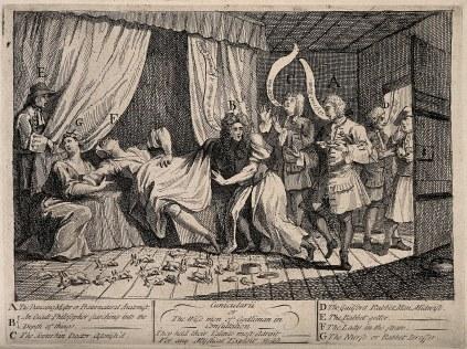 William Hogarth: Cunicularii (Konsultanci)