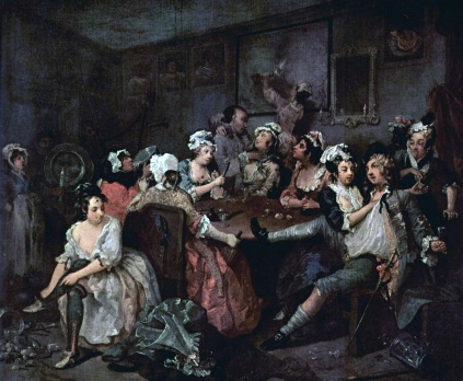 William Hogarth: Hulanka