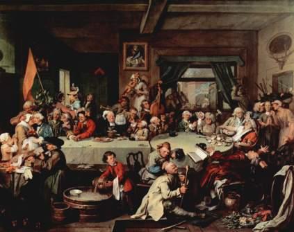 William Hogarth: Święto wyborcze