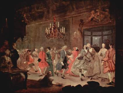 William Hogarth: Bal