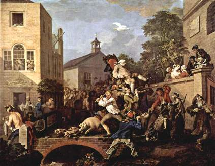 William Hogarth: Elekcja posła
