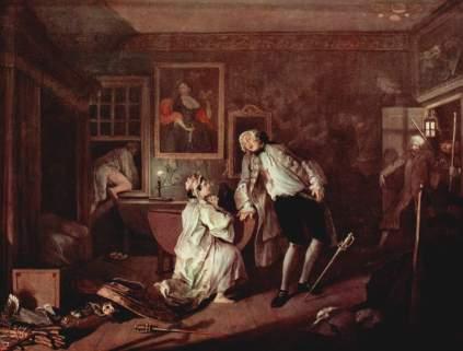 William Hogarth: Śmierć szlachcica