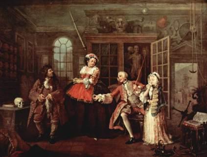 William Hogarth: Wizyta u lekarza