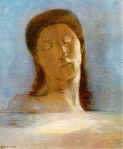 Odilon Redon: Zamknięte oczy