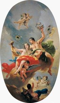 Giovanni Battista Tiepolo: Triumf Zefira i Flory