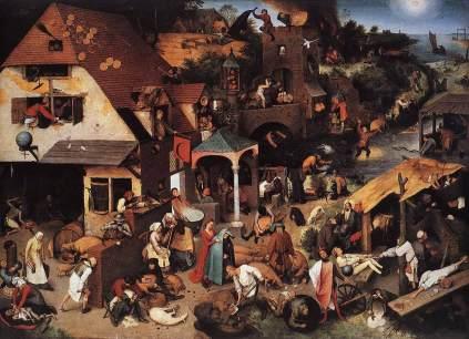 Pieter Bruegel Starszy: Przysłowia