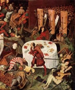 Pieter Bruegel Starszy: Triumf śmierci (detal)