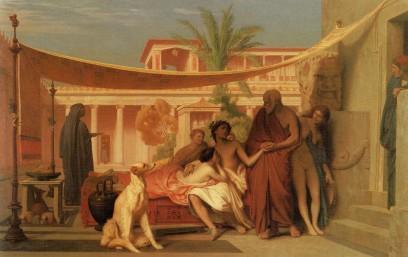 Jean Leon Gerome: Aspazja i Alcybiades