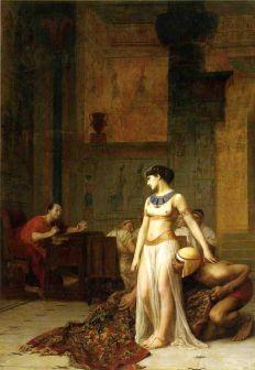 Jean Leon Gerome: Cezar i Kleopatrav