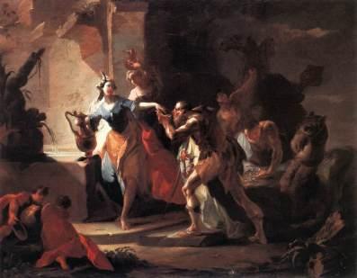 Franz Anton Maulbertsch: Rebeka i Eleazar