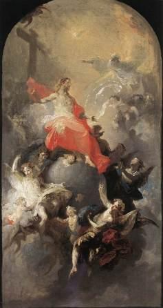 Franz Anton Maulbertsch: Trójca Święta