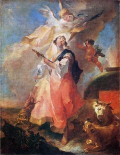 Franz Anton Maulbertsch: Święta Tekla