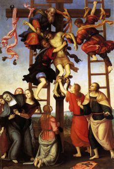 Pietro Perugino: Zdjęcie z krzyża