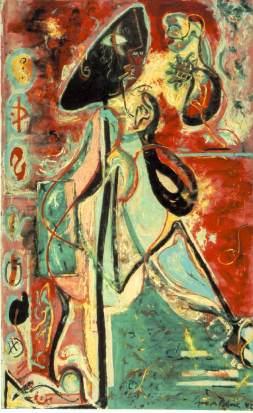 Jackson Pollock, Moon Woman