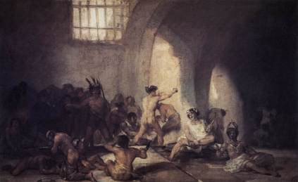 Francisco Goya: Szpital dla obłąkanych