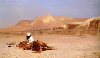 Jean Leon Gerome: Arab i jego koń