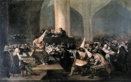 Francisco Goya: Trybunał inkwizycji