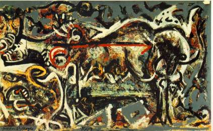Jackson Pollock, She-wolf