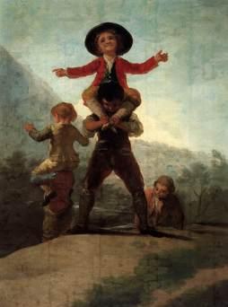 Francisco Goya: Zabawa w olbrzymów