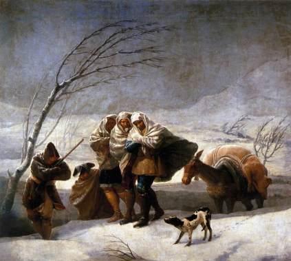 Francisco Goya: Zima