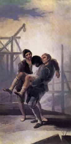Francisco Goya: Zraniony mężczyzna