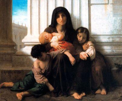 William-Adolphe Bouguereau: Miłosierdzie