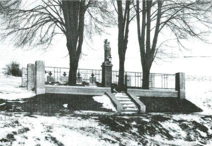 Cmentarz nr 152 w roku 1918