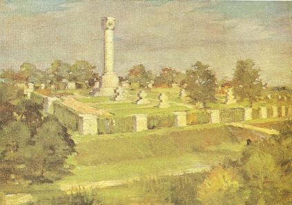 Cmentarz nr 191 w roku 1918
