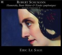 Eric Le Sage: Schumann (okładka płyty)