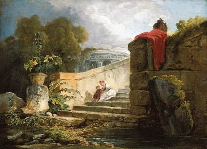 Hubert Robert: Villa Farnese w Rzymie