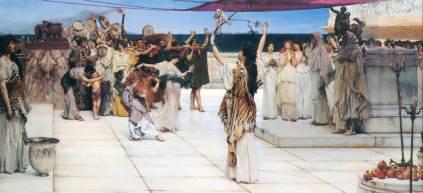 Sir Lawrence Alma-Tadema: Hołd dla Bachusa