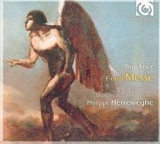 Anton Bruckner: Msza f-moll (okładka płyty)