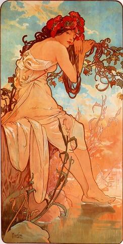 Alfons Mucha: Lato