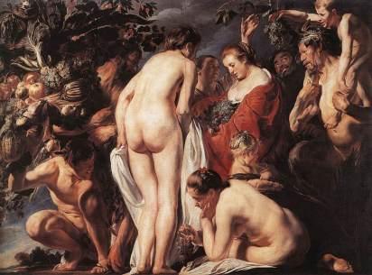 Jacob Jordaens: Alegoria obftości