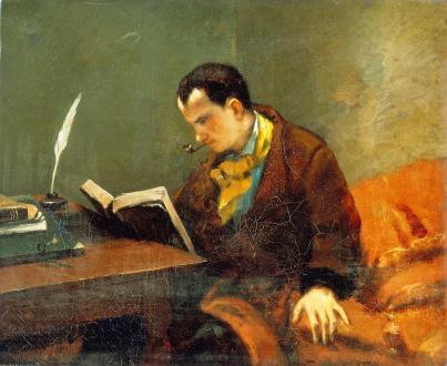 Gustaw Courbet: Karol Baudelaire