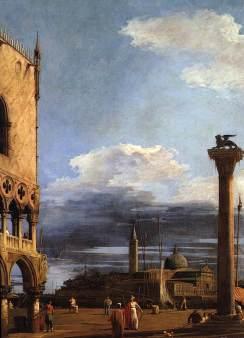 Giovanni Antonio Canal: Piazzetta z widokiem na San Giorgio Maggiore