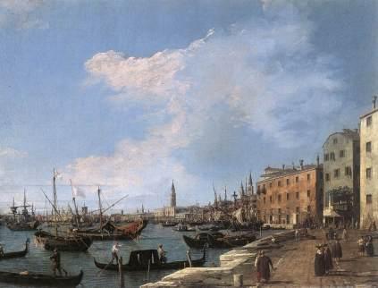 Giovanni Antonio Canal: Riva degli Schiavoni