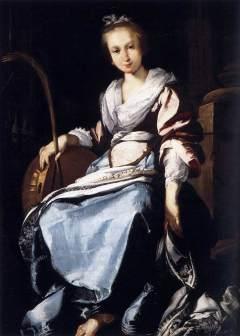 Bernardo Strozzi: Święta Cecylia