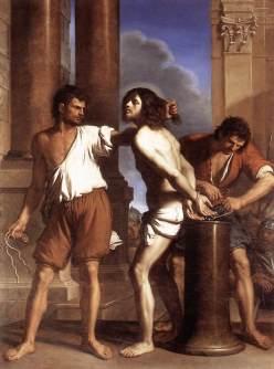 Guercino: Chrystus przy kolumnie