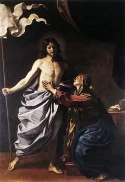 Guercino: Chrystus zmartwychwstały ukazujący sie Maryi