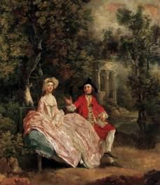 Thomas Gainsborough: Konwersacja w parku