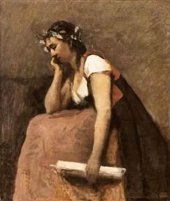Camille Corot, Poezja