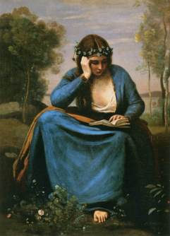 Camille Corot, Czytająca