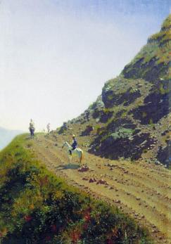 Wasilij Wereszczagin: Droga w górach Ałtaj